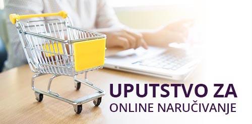 Uputstvo za online naručivanje